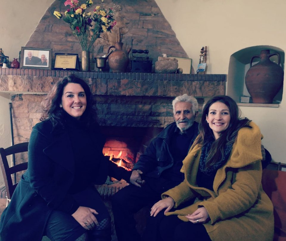 Interview with Mr. Michalis, a 95 year old WW2 survivor in Crete. For Channel 5 and National Geographic documentary series presented by Betthany Hughes. (January 2020) Vicky Arvelaki